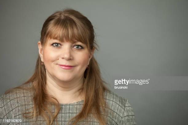 Beautiful 45 year old woman