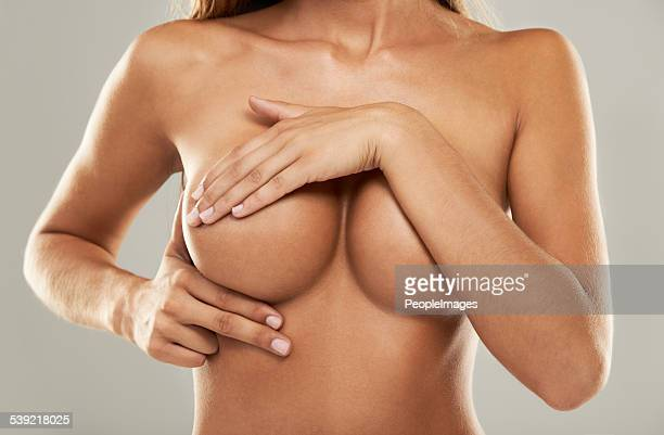 Doing a self-breast exam
