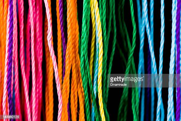 Close-up To Colorful  Threads