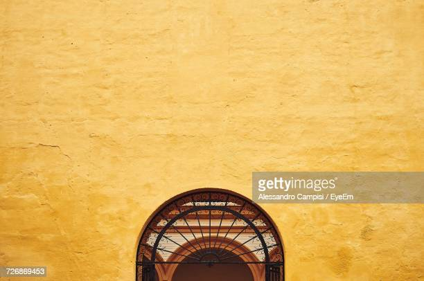 Close-Up View Of Alczar Of Seville Facade