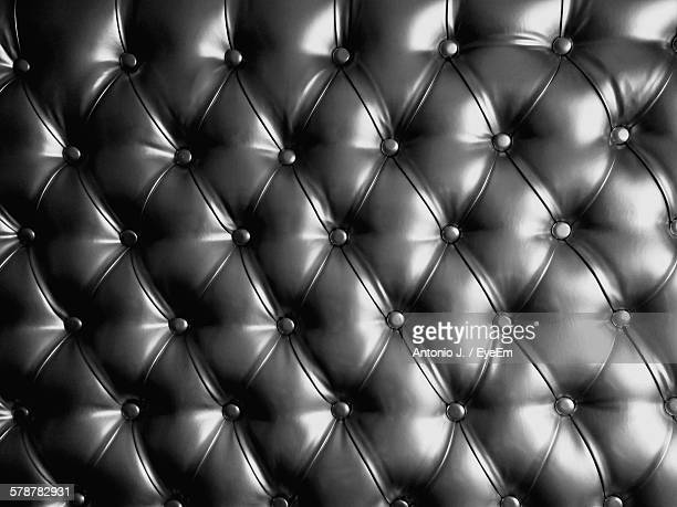 Close-Up View Of Leather Upholstery