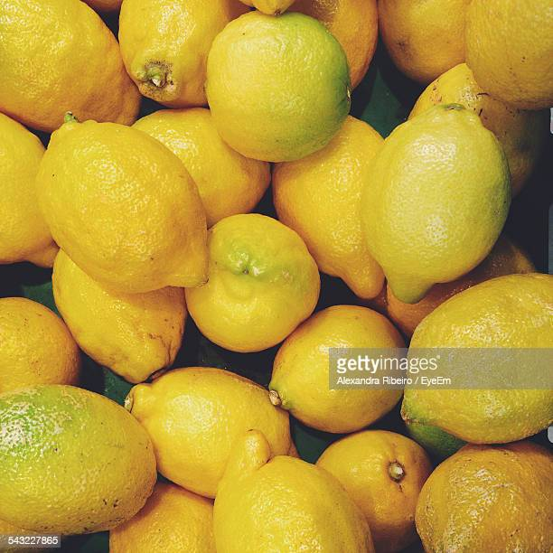 Close-Up View Of Lemons