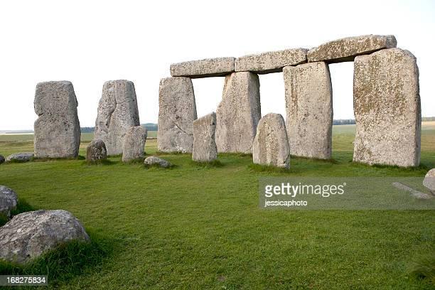 Close-up View of Stonehenge Horizontal