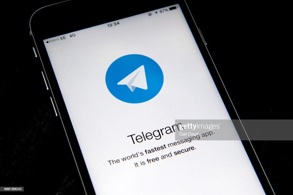 Telegram Messaging App : News Photo
