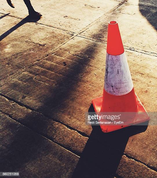 Close-Up View Of Traffic Cone