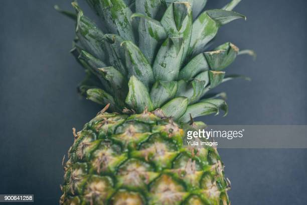Close-up whole pineapple
