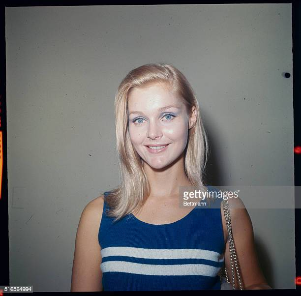 Closeups of Actress Carol Lynley during her Spetember 24th interview with UPI Reporter