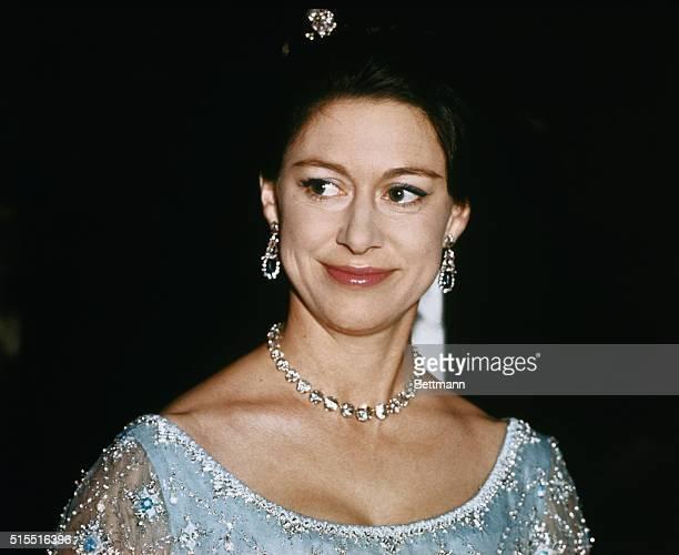 Closeups of Britain's Princess Margaret