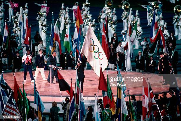 closing ceremony, 1996 olympic games - 1996 summer olympics atlanta stock pictures, royalty-free photos & images