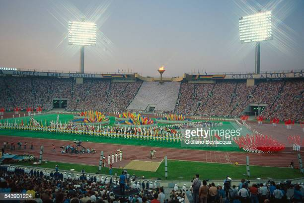 Closing Ceremony of the 1980 Summer Olympic Games in Moscow