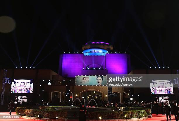Closing ceremony of the 37th Cairo International Film Festival is held at the Cairo opera house in the Egyptian capital on November 20, 2015.