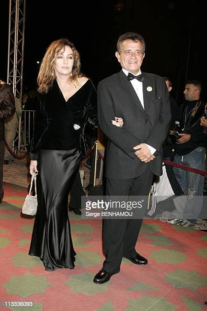 Closing Ceremony Of The International Marrakech Film Festival On November 19Th 2005 In Marrakech Morocco Here Caroline Cellier And Amidou