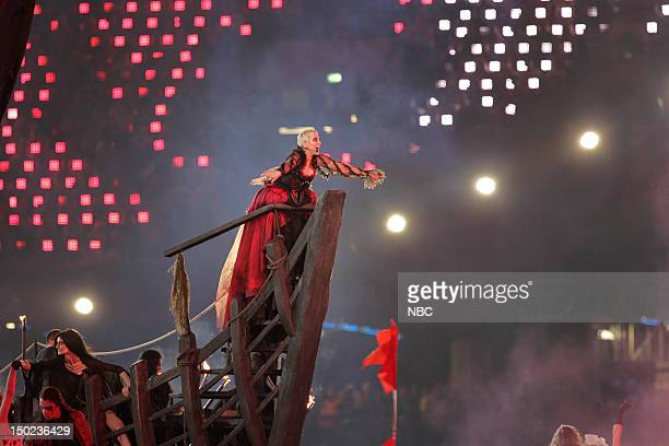 Closing Ceremony -- Pictured: Annie Lennox performs in the Closing Ceremony of the 2012 Summer Olympic Games held in London, England --