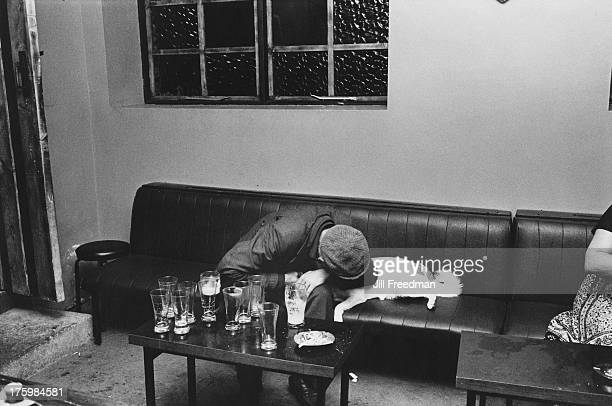 Closing time at a pub in County Kerry Ireland 1981