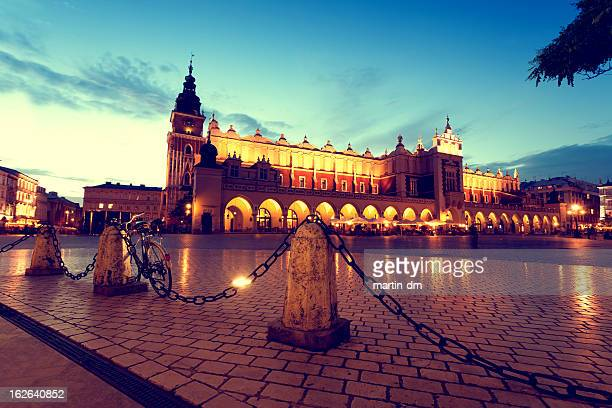 cloth hall - krakow stock pictures, royalty-free photos & images