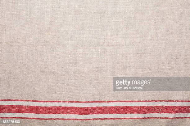 cloth texture background - linen stock photos and pictures