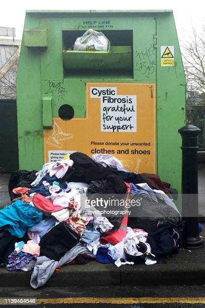 clothes bank - stevebphotography stock pictures, royalty-free photos & images