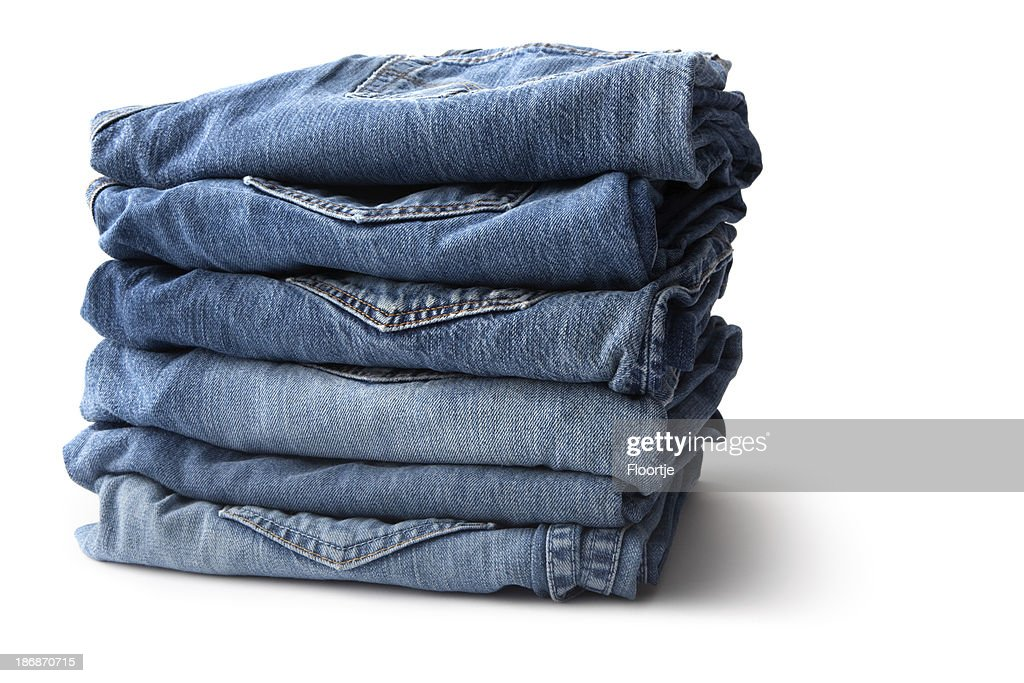 Clothes: Blue Jeans : Stock Photo