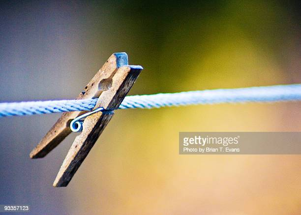 a clothes pin hanging on - manchester new hampshire stock pictures, royalty-free photos & images