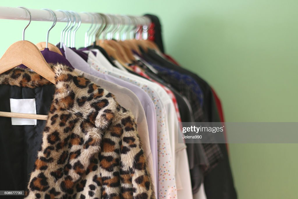 Clothes Rack : Stock Photo