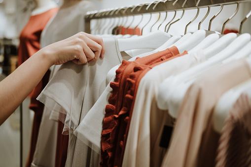 Clothes Shop Costume Dress Fashion Store Style Concept 955641488
