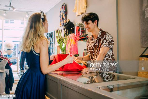 clothes shopping in amsterdam - exchanging stock pictures, royalty-free photos & images