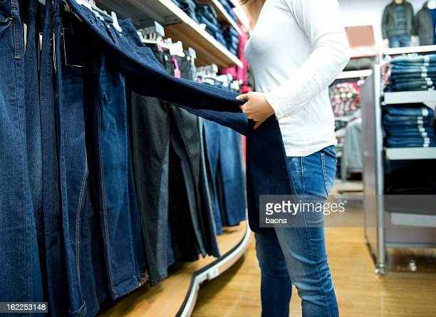 Des boutiques de vêtements