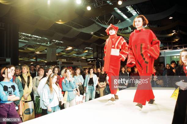 Clothes Show Live NEC Birmingham 3rd December 1994 Scenes from the Catwalk
