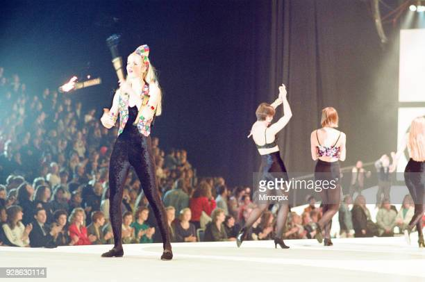 Clothes Show Live NEC Birmingham 7th December 1991 Scenes from the Catwalk