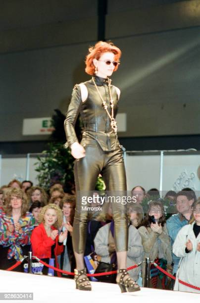 Clothes Show Live, NEC, Birmingham, 7th December 1991. Scenes from the Catwalk.