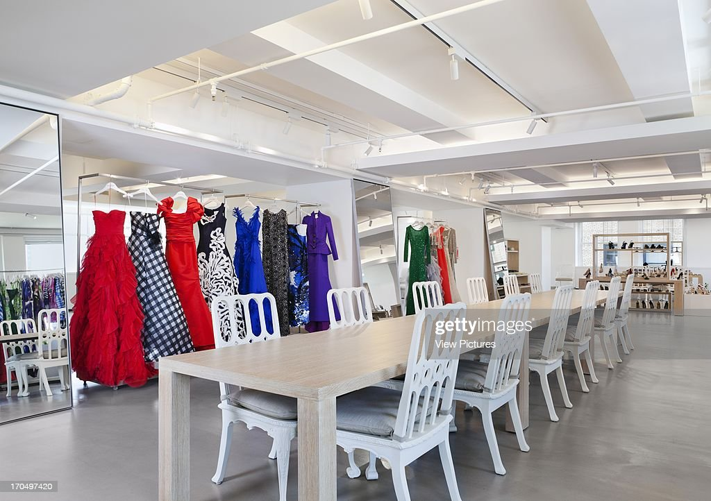 Clothes Showroom Oscar De La A Headquarters New York United States Architect