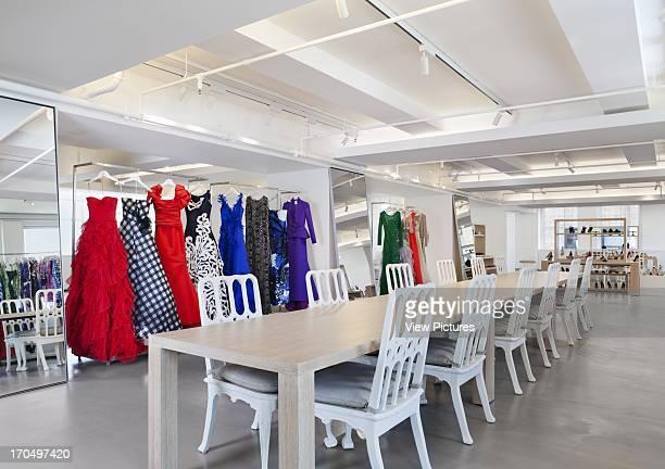 Clothes showroom, Oscar de la Renta Headquarters, New York, United States, Architect: Meyer Davis Studio Oscar de la Renta office nyc, fashion design...