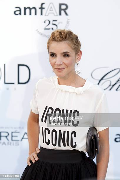 Clothilde Courau attends amfAR's Cinema Against AIDS Gala during the 64th Annual Cannes Film Festival at Hotel Du Cap on May 19 2011 in Antibes France