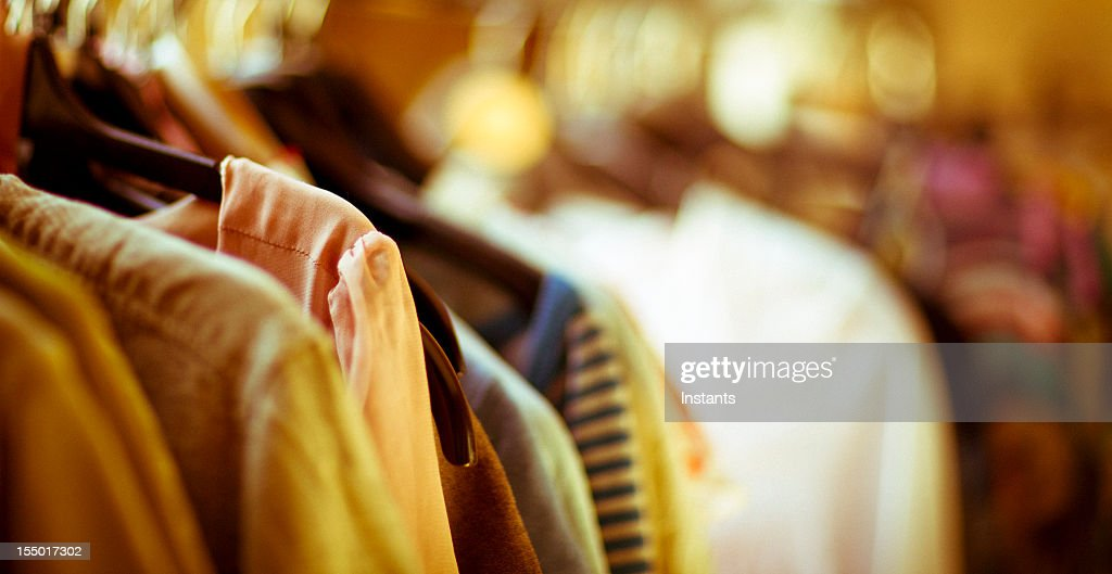 Clothing choices : Stock Photo