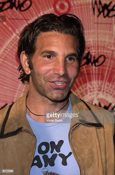 Clothing designer Mossimo Giannulli attends party honoring him March 22 2001 in North Hollywood CA The event sponsored by Target celebrated Mossimo's...