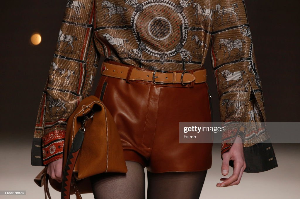 Hermes : Details - Paris Fashion Week Womenswear Fall/Winter 2019/2020 : ニュース写真