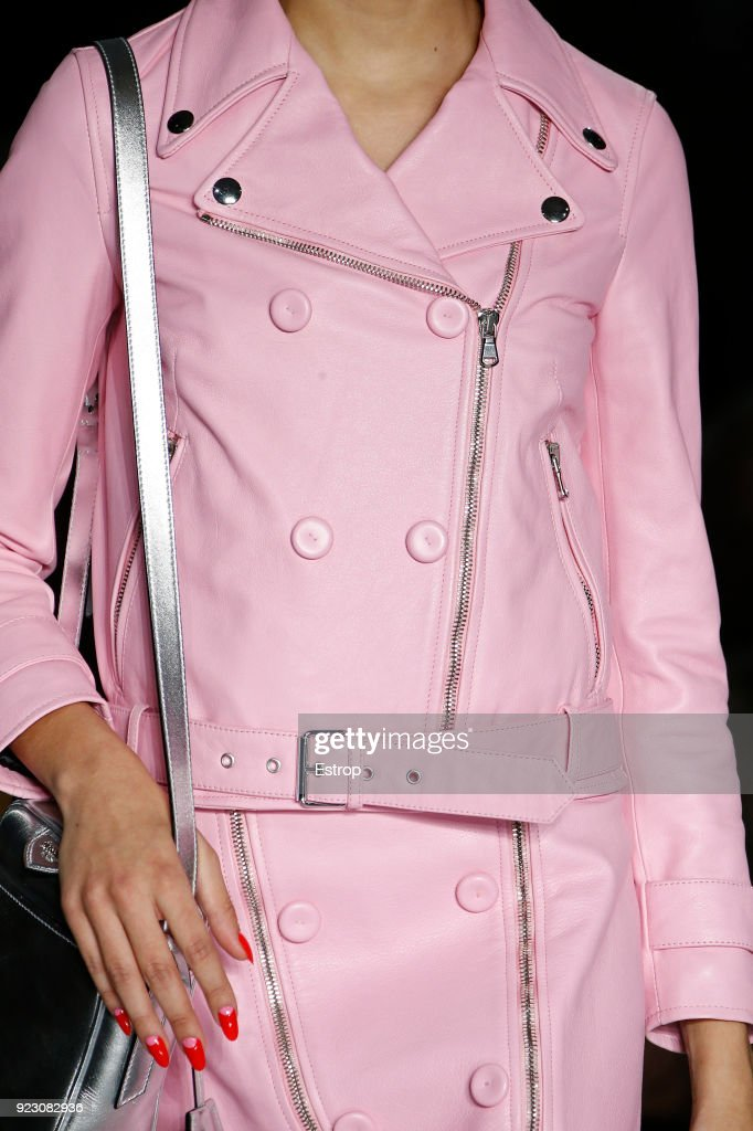Moschino - Details - Milan Fashion Week Fall/Winter 2018/19 : News Photo