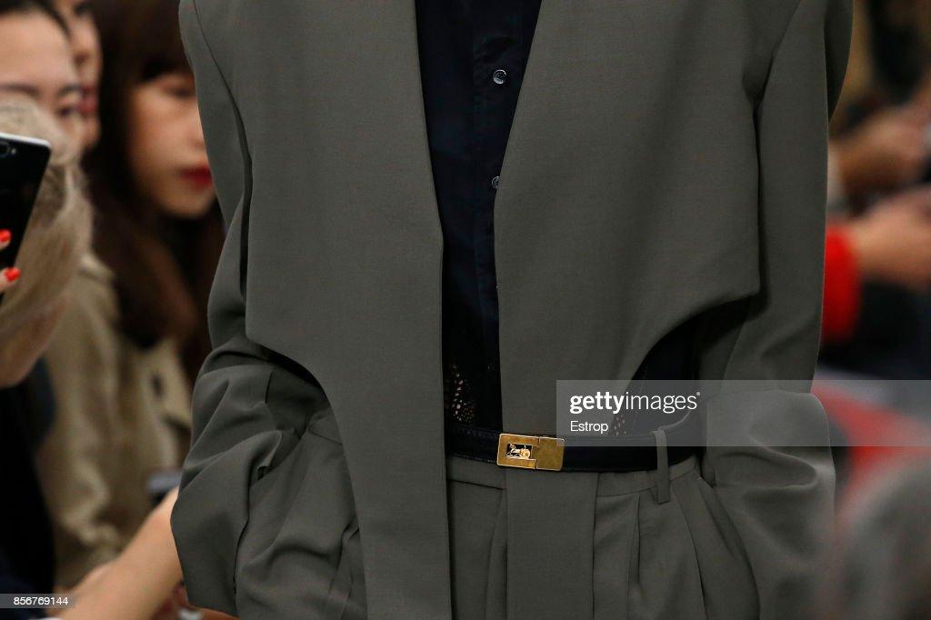 Celine : Details - Paris Fashion Week Womenswear Spring/Summer 2018 : ニュース写真
