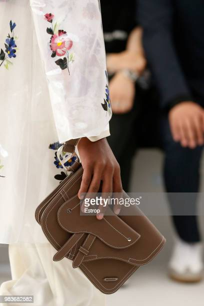 Clothing detail during the Dior Homme Menswear Spring/Summer 2019 show as part of Paris Fashion Week on June 23 2018 in Paris France
