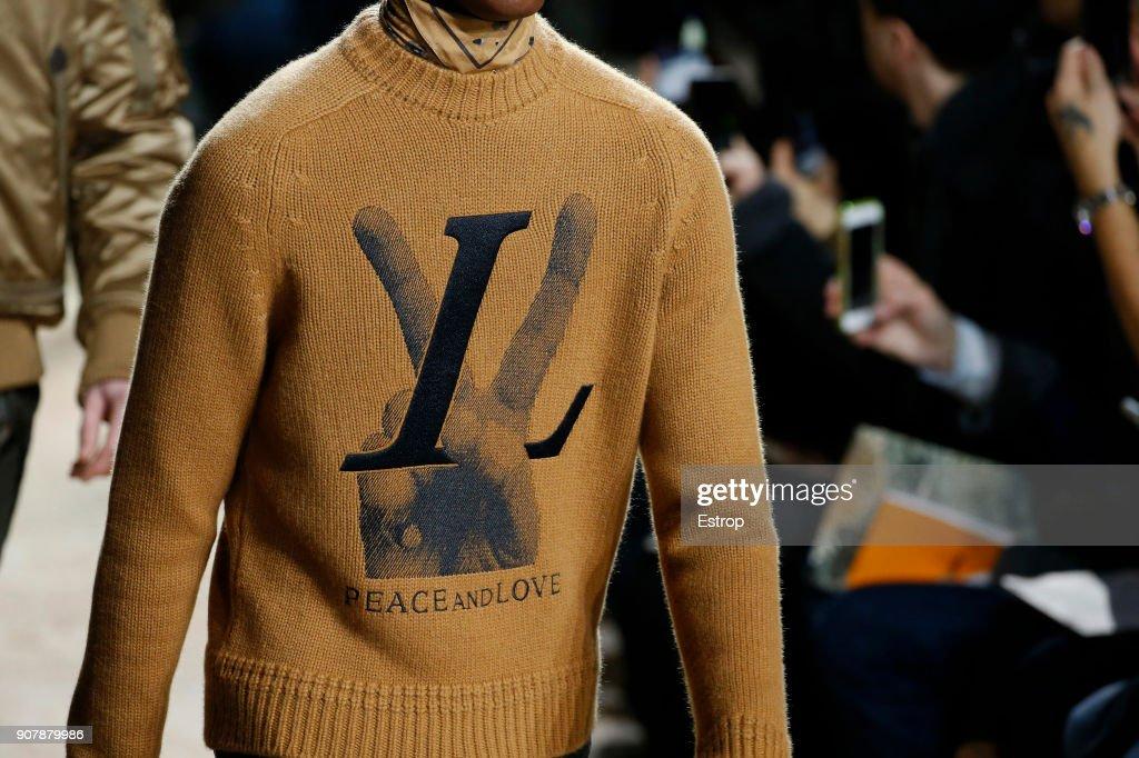 Louis Vuitton : Details - Paris Fashion Week - Menswear F/W 2018-2019 : ニュース写真