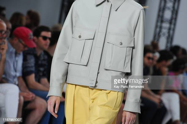 Clothing detail during the Paul Smith Menswear runway Spring Summer 2020 show as part of Paris Fashion Week on June 23, 2019 in Paris, France.