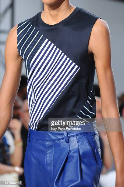 Clothing detail during the Paul Smith Menswear Spring Summer 2020 show as part of Paris Fashion Week on June 23, 2019 in Paris, France.