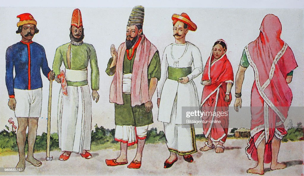 Clothing Fashion In India In Modern History From Left A Gardener News Photo Getty Images