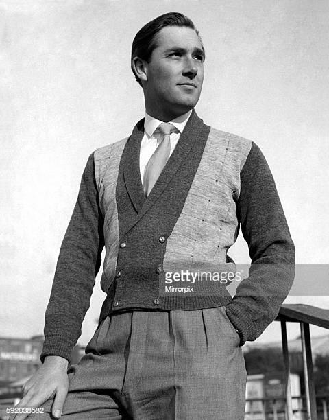 Menswear: Waistcoats. October 1955 P021601