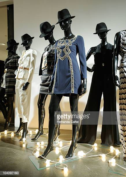 Clothing is presented at the Temperley London Spring 2011 presentation during Mercedes-Benz Fashion Week at Milk Studios on September 14, 2010 in New...