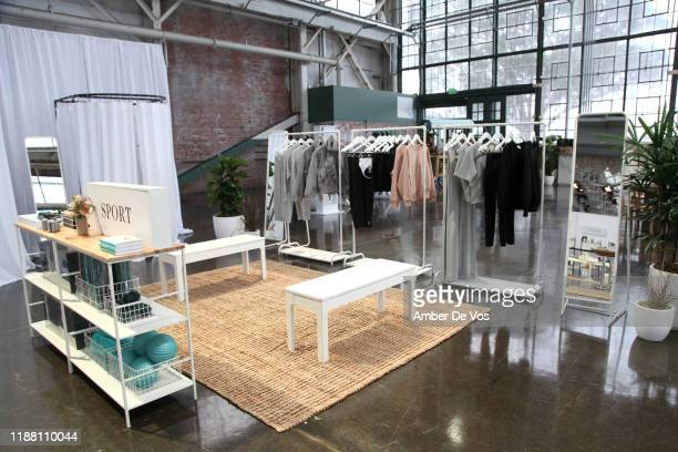 Clothing is seen during the In goop Health Summit San Francisco 2019 at Craneway Pavilion on November 16, 2019 in Richmond, California.