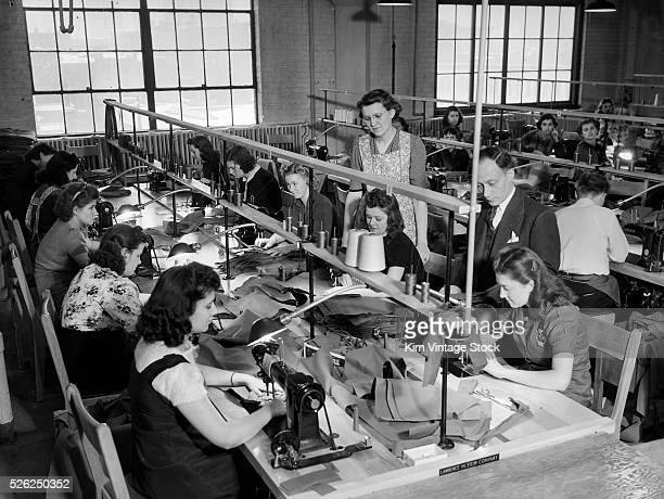 Clothing manufacturer workroom in Chicago ca 1944