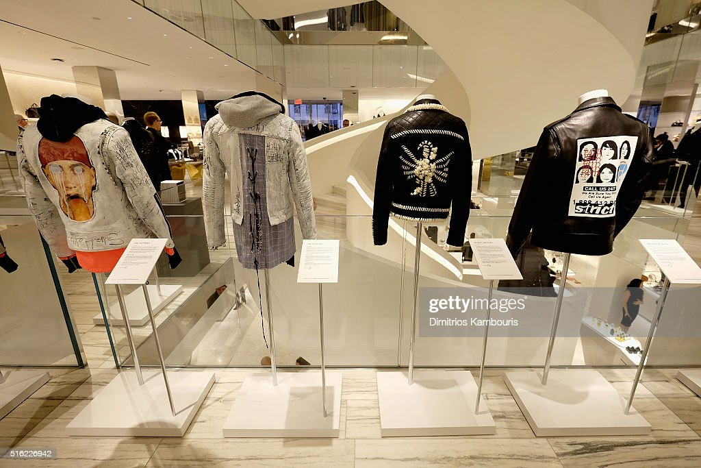 Barneys New York Celebrates Its New Downtown Flagship In New York City : News Photo