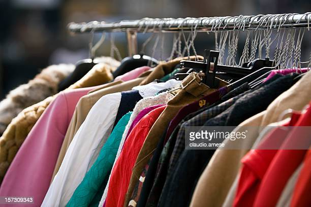 Clothing Second Hand. Color Image