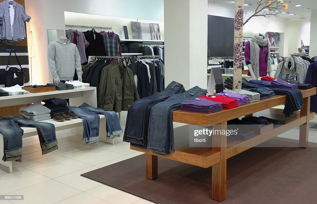 Clothing Store Stock Photos and Pictures Getty Images